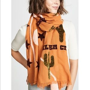 Madewell Scarf with New Mexico Map Print